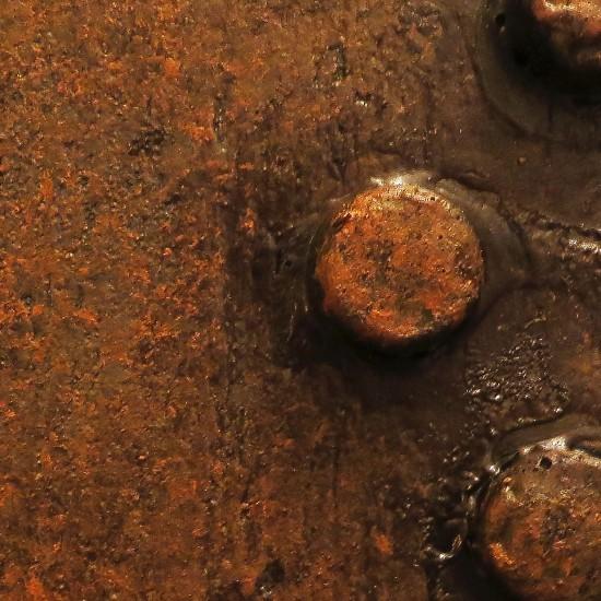 aspect rouille ( pigments)