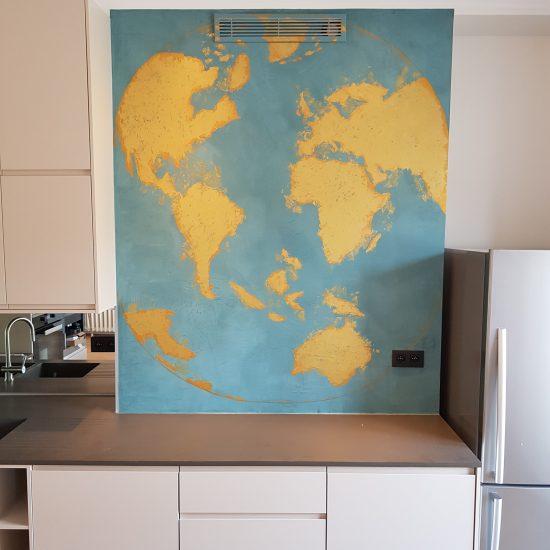 """illustration """"cuisines du monde"""" sur demande"""